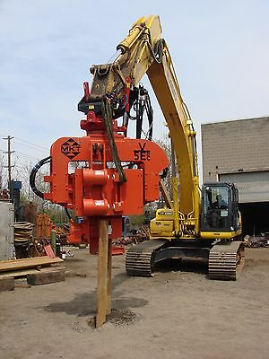 Mkt V-5esc - Side Clamp Excavator Mounted Vibratory Hammer