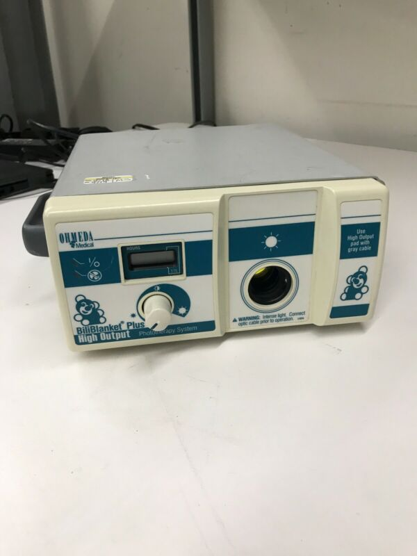 OHMEDA BILIBLANKET PLUS 6600-0652-801 HIGH OUTPUT PHOTOTHERAPY SYSTEM