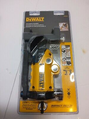 Dewalt 18ga Shear Attachment For Drill Impact Ready 360 Swivel 703
