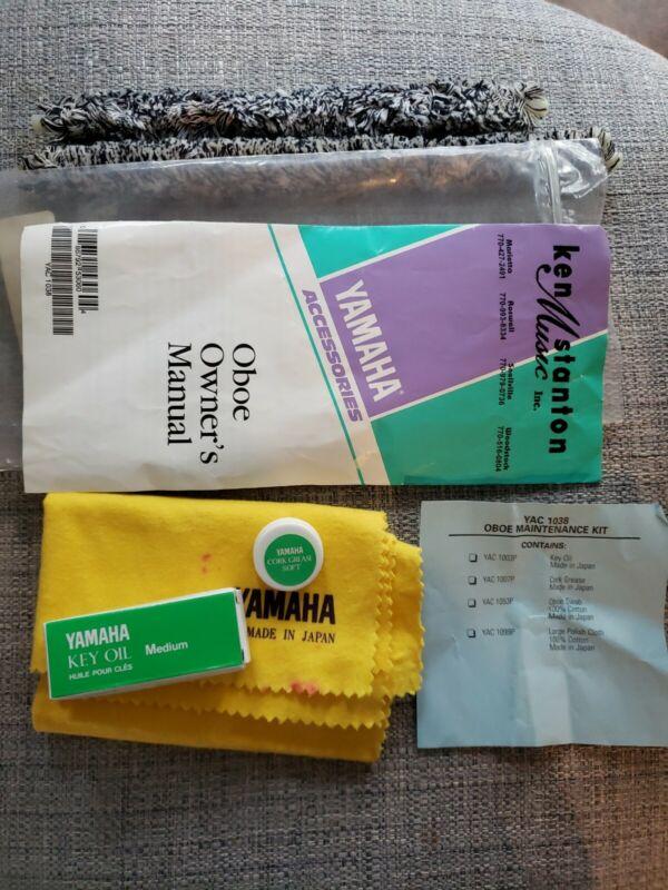 YAMAHA Oboe Care Kit *Key oil, Swab, Cloth, Grease and Manual