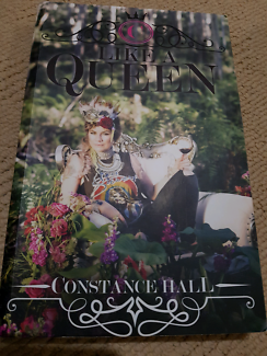 Constance Hall - Like A Queen Book - Like New!!