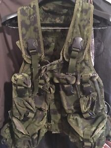Canadian army Tac vest x2