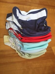 Lot de couches lavables / reusable cloth diapers