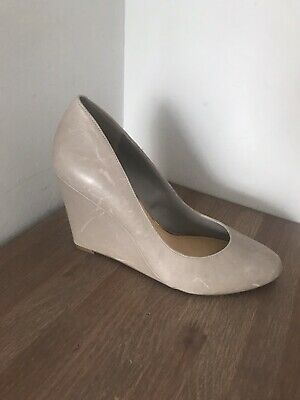 JESSICA SIMPSON Grey Wedge Shoes UK Size 7