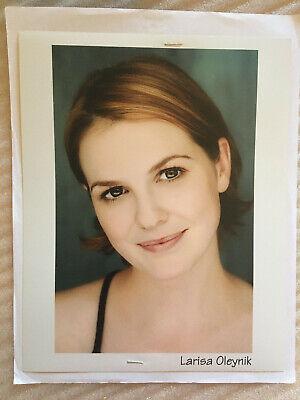 Larisa Oleynik #2 vintage original headshot photo with credits training skills