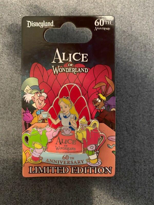 Disney Pin Alice in Wonderland 60th Anniversary LE 2000