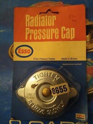 RADIATOR PRESSURE CAP - FITS: ALFA ROMEO MONTREAL & LOTUS EUROPA TWIN CAM