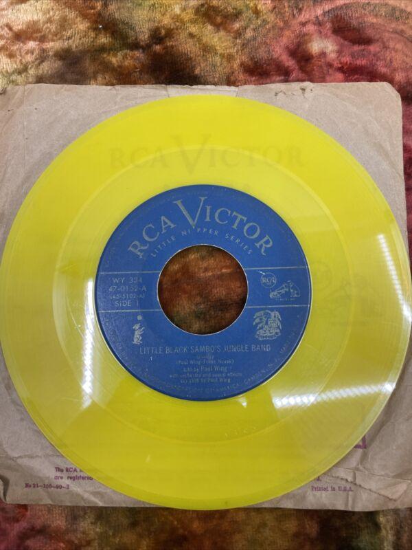 Little Nipper RCA Victor / Black Americana / 45 Records / Disney Song