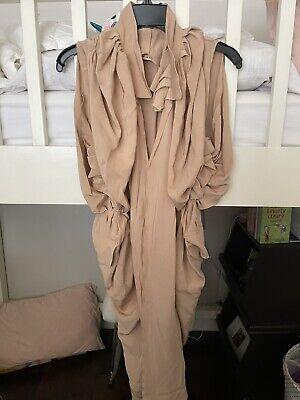Marni Silk Beige Dress Sz 40