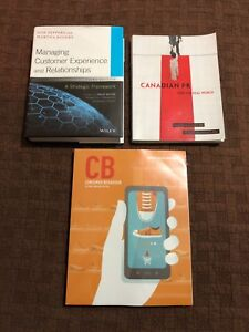 NSCC Second Year Business Admin Textbooks (Marketing)