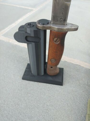 Lee Enfield No1 Mk3 Rifle SMLE Bayonet Display Stand