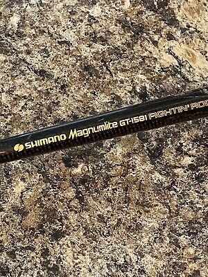 """Details about  /Shimano Magnumlite GT-1552 Fightin'rod 5'6"""" 8-25Lb Graphite Casting Fishing Rod"""