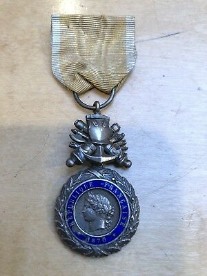 France Third Republic Military Medal Type I 1870