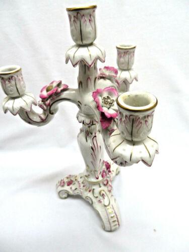 Von Schierholz Porcelain Quadruple Candle Holder rb700