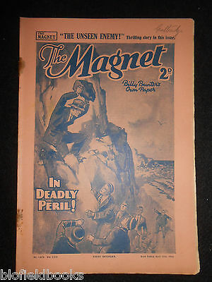 The Magnet; Billy Bunter's Own Paper - WWII Era Boy's Comic - April 13th 1940