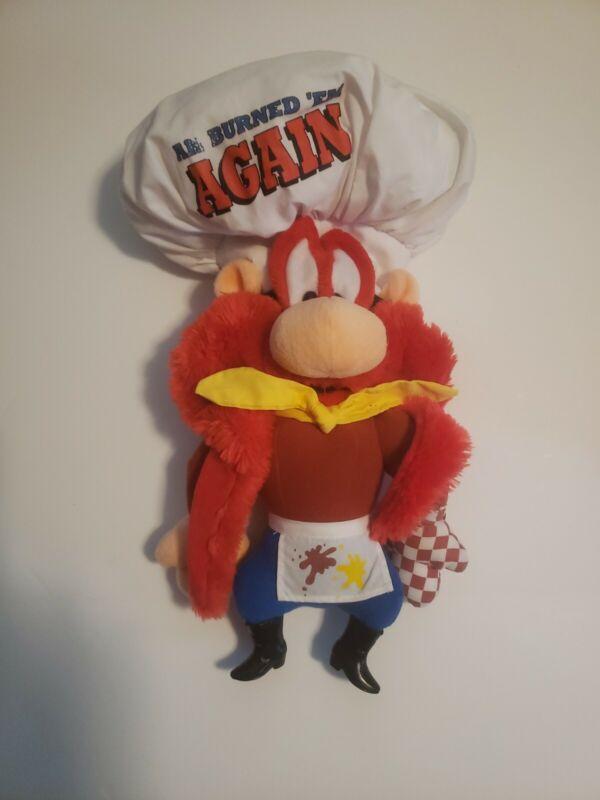 "Yosemite Sam 16"" Looney Tunes 1994 Applause Stuffed Plush Bugs Bunny Warner Bros"