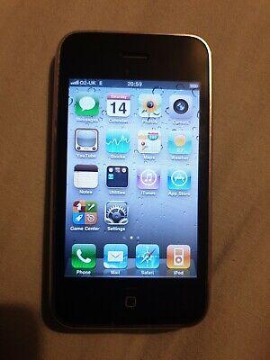 Apple iPhone 3GS - 8GB - Black (O2) A1303 (GSM), usado segunda mano  Embacar hacia Argentina