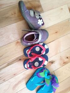 Size 5 girls kids boots shoes sandals FISHER PRICE