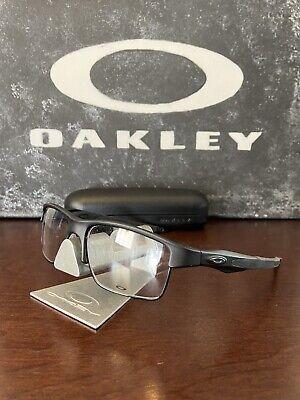 Oakley Crosslink Switch Prescription Eyeglasses Satin Black 55/18 OX3128-0155