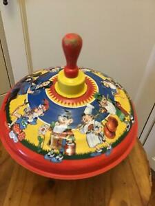 Vintage BOLZ Spinning Top- Toy