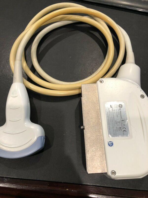 USED GE 4C Convex Array Probe - Curved Ultrasound Transducer 2401359