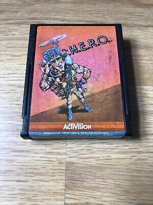 Hero Atari 2600 7800 VCS - Cartridge Only Tested And Working H.E.R.O Activision