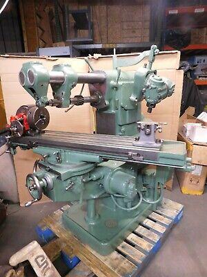 Brown Sharpe Light No 2 Universal Milling Machine Wloads Tooling...rare Find