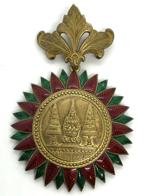 Tailand WW1 Order Commander's Badge 3rd Class