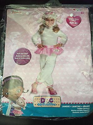 Disney's Doc  McStuffins LAMBIE Halloween Costume 3t 4t Tutu Dress Up Costume (Lambie Doc Mcstuffins Kostüme)