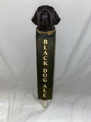 Figural Spanish Peaks Black Dog Ale Tap handle bar pub