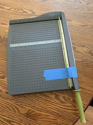 Swingline Paper Trimmercutter Guillotine 12 Cut Length 10 Sheets Capacity