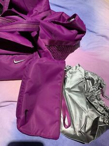 Nike purple gym bag