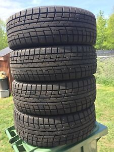 p235/60/18 inch Winter Tires / LIKE NEW / GOOD DEAL