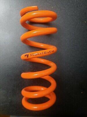 Fox SLS Coil Rear Shock Spring 400lbs x 2.25 Stroke Orange