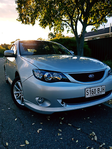 2008 Subaru Imprexa Rs Golden Grove Tea Tree Gully Area Preview