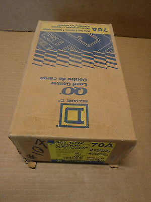Square D Qo 70 Amp Main Lug Load Center Breaker Box Flush Mount