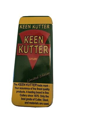 NEW METAL KEEN KUTTER KNIFE BOXES 24 available