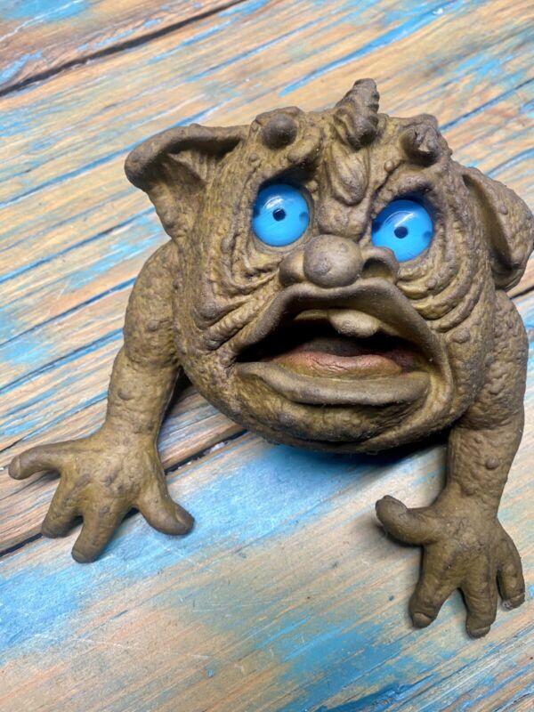 Vintage 1987 Seven Towns Boglin Creature - Rare Squidge Hand Puppet