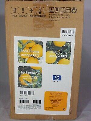 Hp Indigo Press Orange 003 Electroink Series 1000 2000 Unopened Q4027a 4 Cans