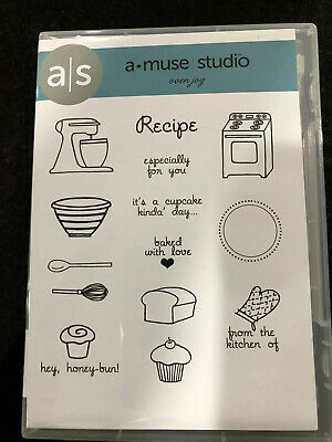 RARE! A Muse Studio OVEN JOY Baking Cookies Kitchen Cooking Recipe Cupcakes Host