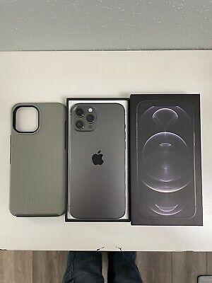 Apple iPhone 12 Pro Max - 128GB - Graphite (AT&T) Mint.