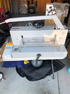 Triumph 4700 Paper Cutter New Extra Blade And Guides