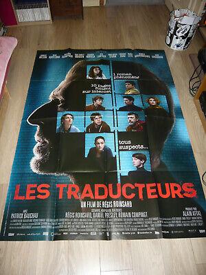 Affiche de cinéma - Les Traducteurs (120X160 environ)