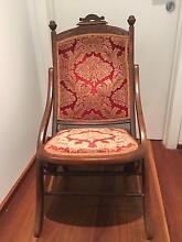 Antique folding chair Geraldton 6530 Geraldton City Preview
