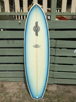 Walden CD 6'4 surfboard