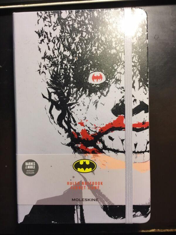NEW SEALED Moleskine Batman Joker Barnes Noble Exclusive Ruled Notebook RARE