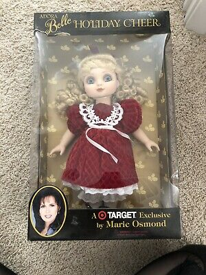 Adora Belle Holiday Cheer 15 Inch Doll Marie Osmond Target Exclusive Collectible