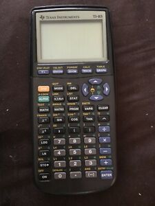 TI-83 Graphing Calculator Very Good Condition