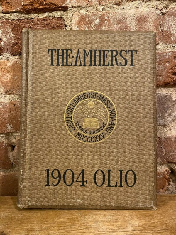 1904 Olio - Amherst College Yearbook