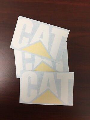 3  CATERPILLAR Quality Vinyl Decals Sticker